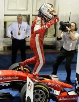 A esperança pela competição: Vettel
