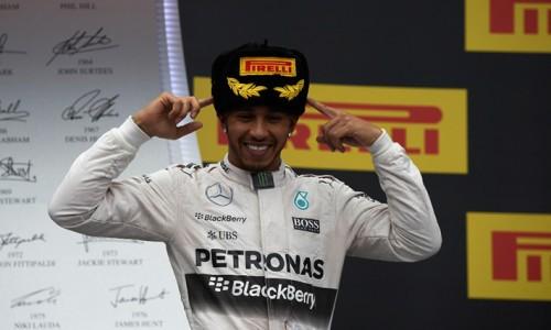Hamilton é o virtual campeão da temporada