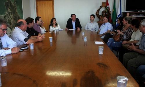 Sincomércio e CDL apresentam reivindicações ao prefeito de Balneário Camboriú