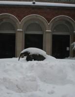 Imagens da nevasca nos EUA