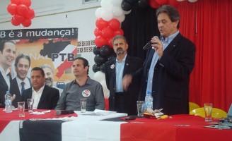 Roberto Jefferson é o líder do PTB