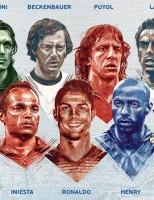 A seleção de todos os tempos da Euro Copa