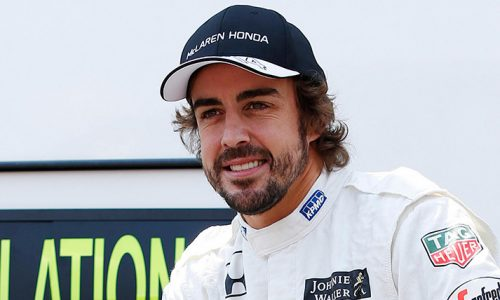 Fernando Alonso nas 500 milhas