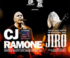 CJ Ramone no CRACCA Festival