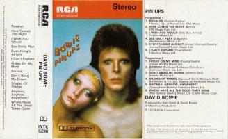 Os 45 anos de Pinups, de Bowie