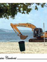 O que fazem de ti, praia de Camboriú