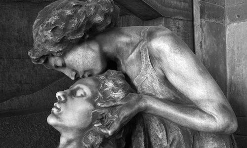 A arte lúgubre dos cemitérios