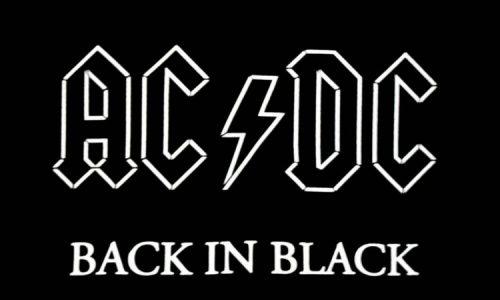 Back in Black 40ntão
